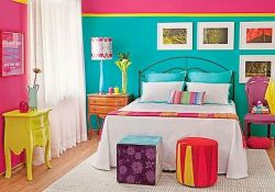 70 Awesome Colorful Bedroom Design Ideas and Remodel (1)