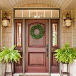 90 Awesome Front Door Colors and Design Ideas (3)