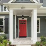 90 Awesome Front Door Colors and Design Ideas (33)