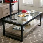 40 Awesome Modern Glass Coffee Table Design Ideas For Your Living Room (16)