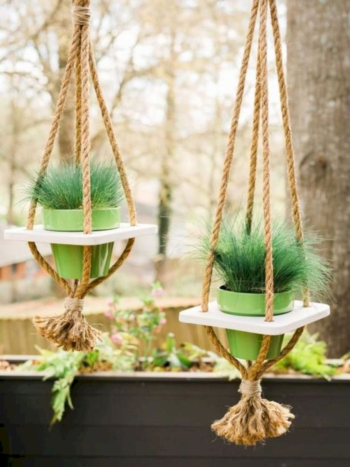 50 Awesome Modern Backyard Garden Design Ideas With Hanging Plants (2)