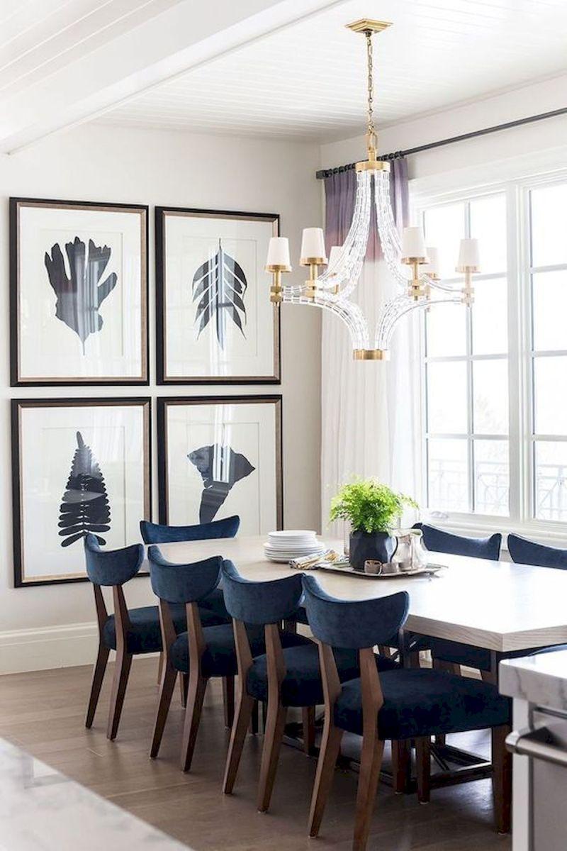 80 Elegant Modern Dining Room Design and Decor Ideas (2)