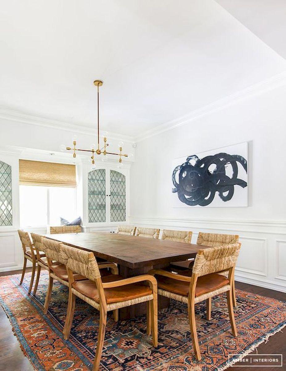80 Elegant Modern Dining Room Design and Decor Ideas (3)