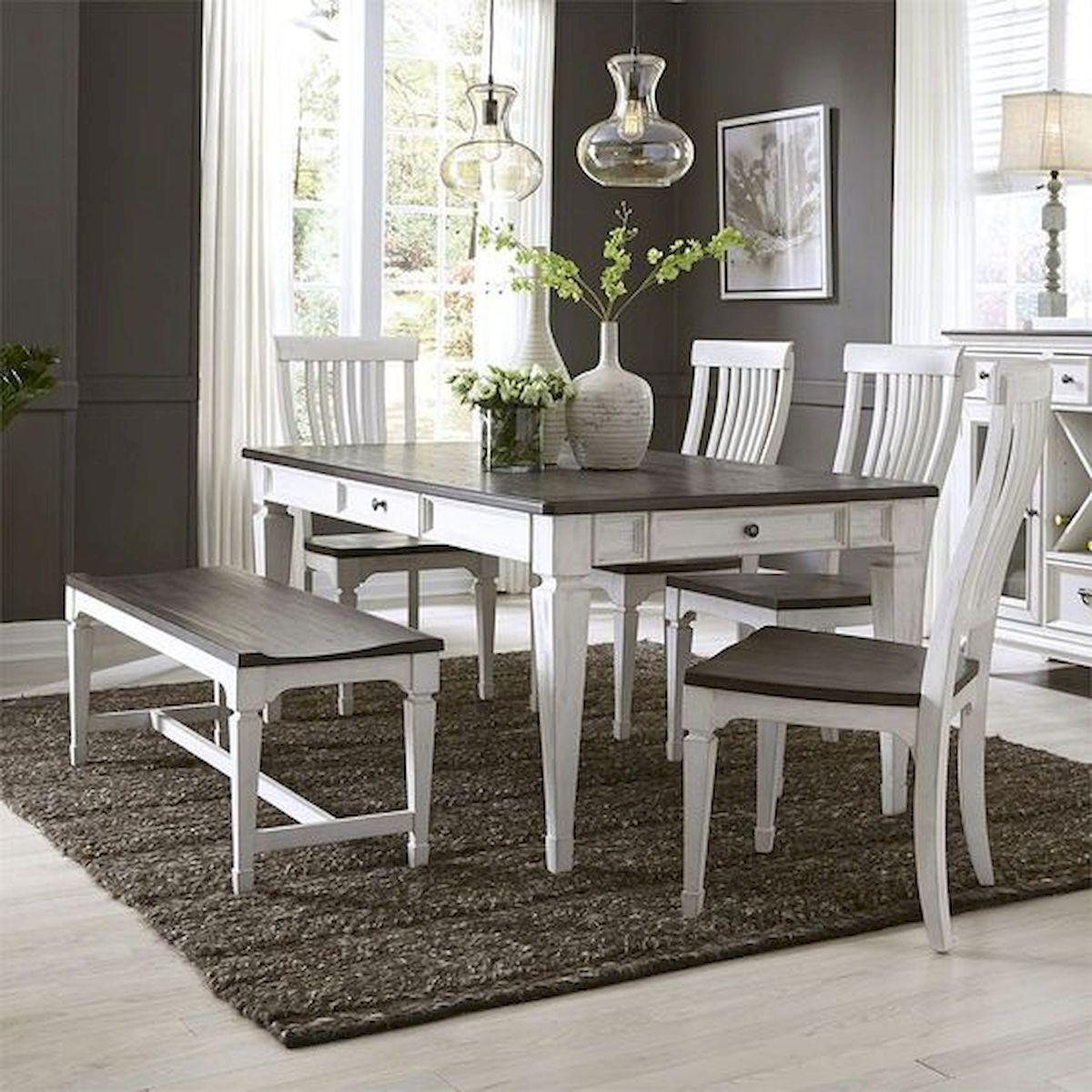 80 Elegant Modern Dining Room Design and Decor Ideas (31)