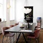 80 Elegant Modern Dining Room Design And Decor Ideas (62)