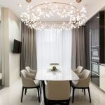 80 Elegant Modern Dining Room Design And Decor Ideas (72)