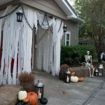 30 Awesome Outdoor Halloween Decorations Ideas (28)