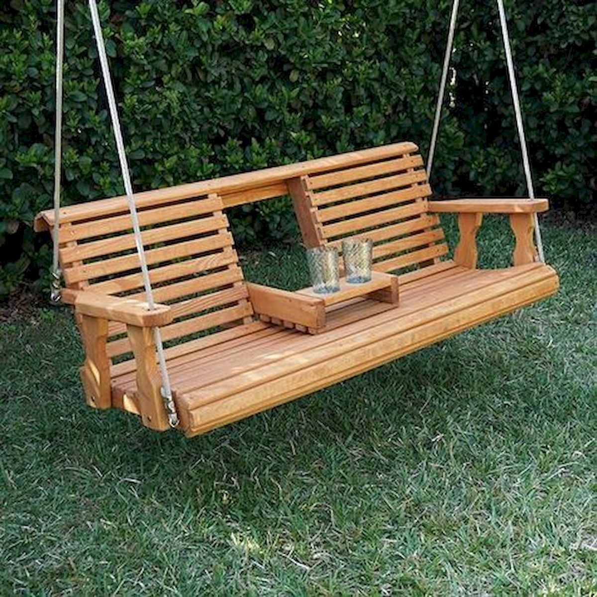 30 Fantastic DIY Wooden Pallet Swing Chair Ideas (14)