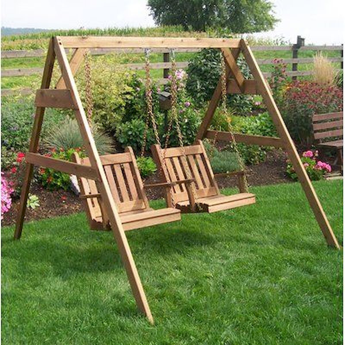 30 Fantastic DIY Wooden Pallet Swing Chair Ideas (21)