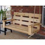 30 Fantastic DIY Wooden Pallet Swing Chair Ideas (27)