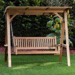 30 Fantastic DIY Wooden Pallet Swing Chair Ideas (4)