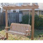 30 Fantastic DIY Wooden Pallet Swing Chair Ideas (5)