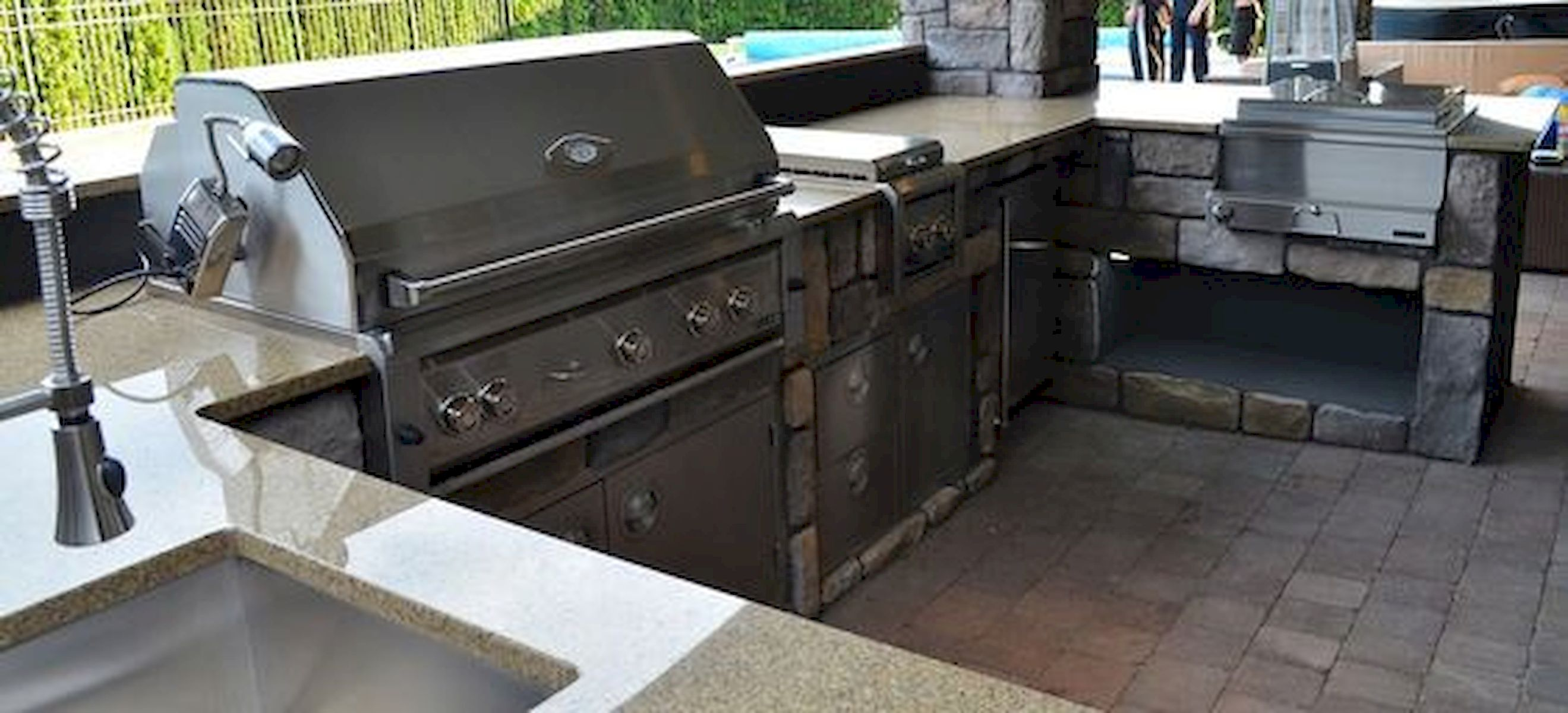30 Fantastic Outdoor Kitchen Ideas And Design On A Budget (2)