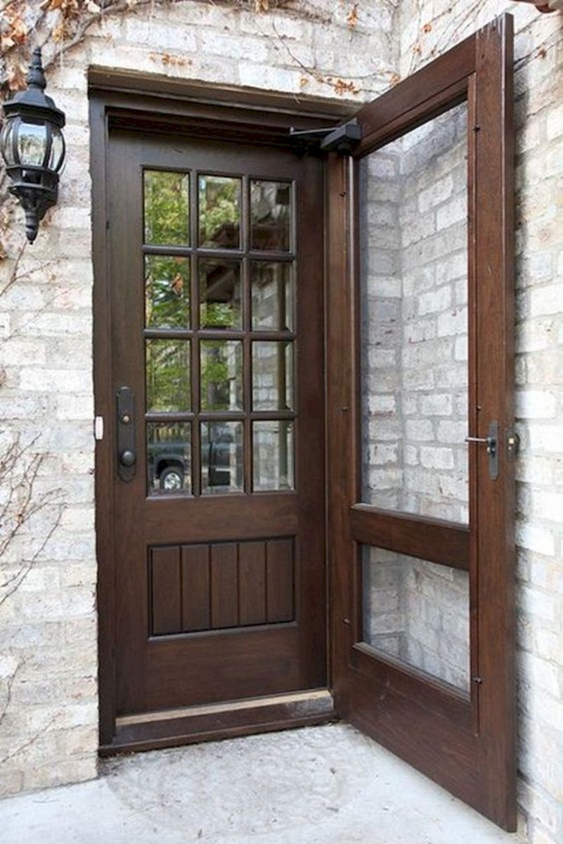 40 Awesome Minimalist Home Door Design You Have Must See (29)
