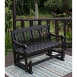 40 Fantastic Outdoor Bench Ideas For Backyard and Front Yard Garden (18)