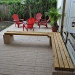 40 Fantastic Outdoor Bench Ideas For Backyard and Front Yard Garden (19)