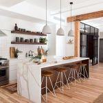 50 Amazing Modern Kitchen Design and Decor Ideas With Luxury Stylish (19)