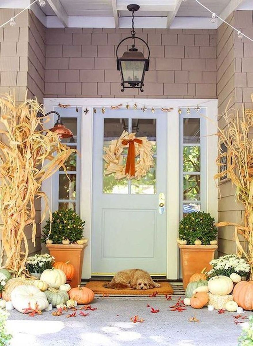 35 Cool Fall Outdoor Decor Ideas You Will Like (7)