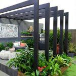 40 Fabulous Modern Garden Designs Ideas For Front Yard and Backyard (32)