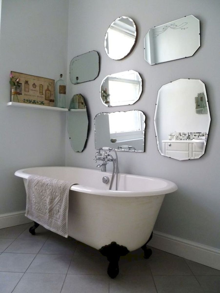 26 Beautiful Bathroom Mirror Ideas That You Will Love (11)