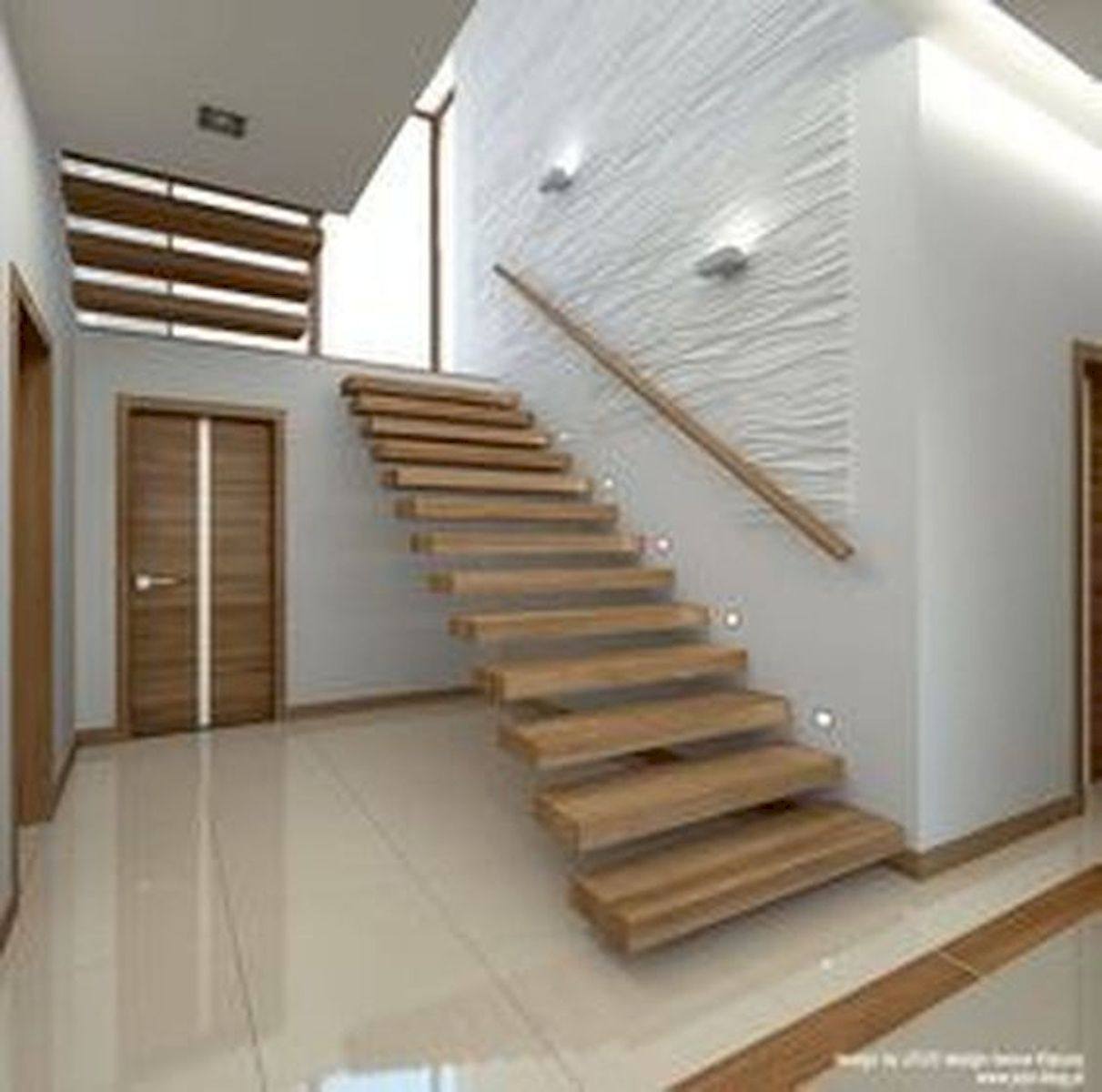 30 Awesome Wooden Stairs Design Ideas For Your Home House8055 Com | Wooden Staircase Designs For Homes | Beautiful | Royal Wooden Stair | Residential | Interior | Iron