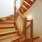 30 Awesome Wooden Stairs Design Ideas For Your Home (23)