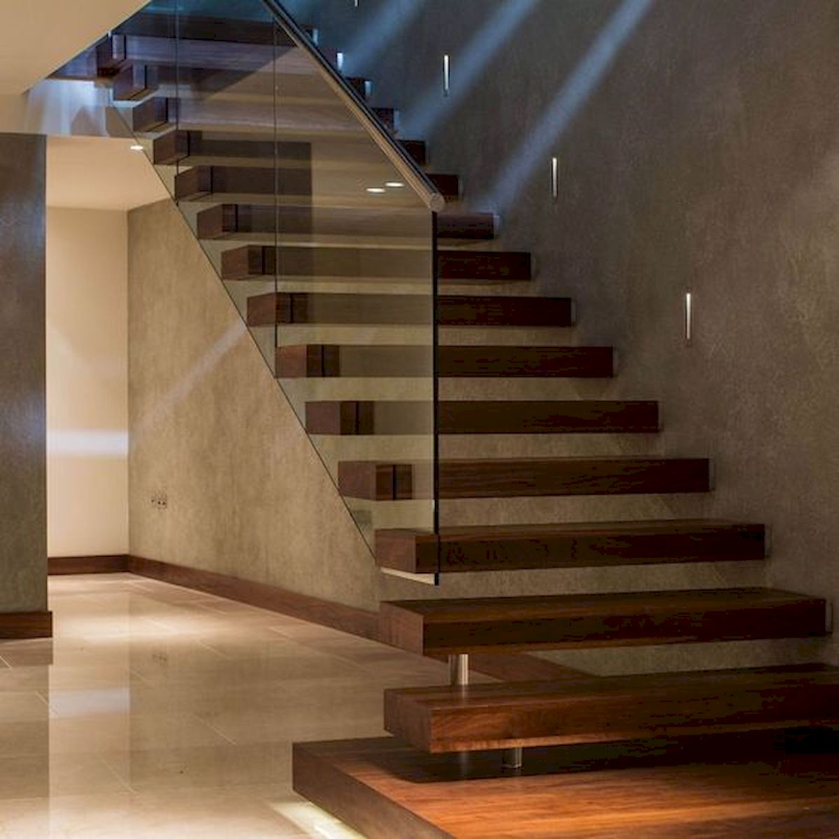 30 Awesome Wooden Stairs Design Ideas For Your Home (27)
