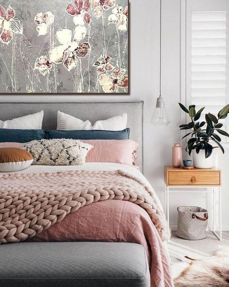 40 Amazing Farmhouse Boho Bedroom Design And Decor Ideas (20)