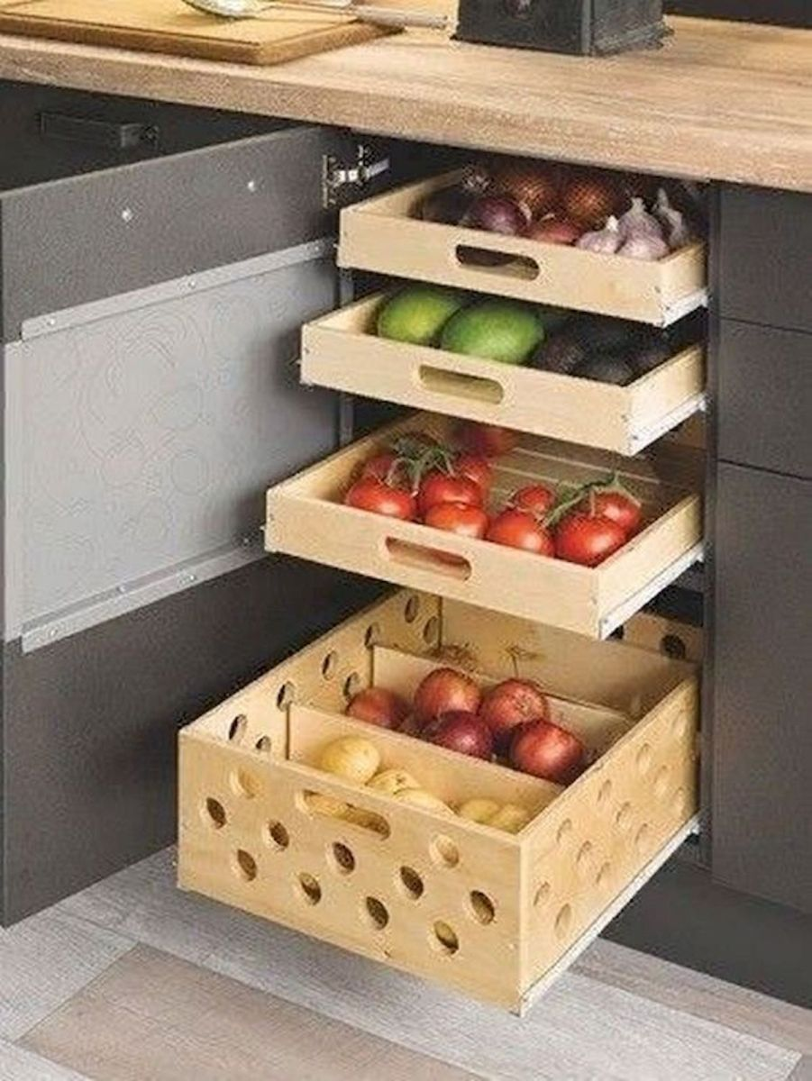 30 Best Fruit and Vegetable Storage Ideas for Your Kitchen (1)
