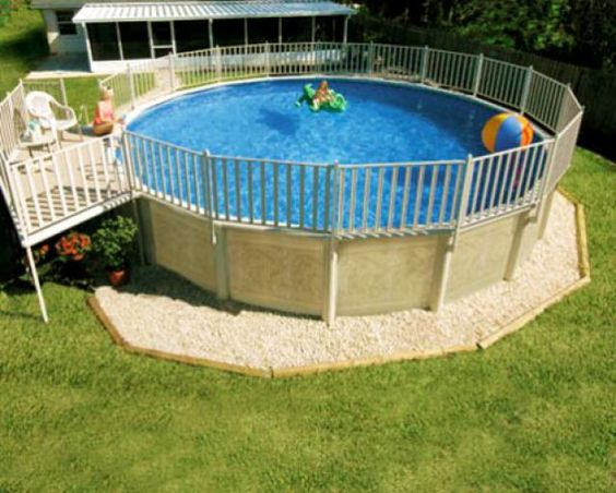 Above Ground Pool Landscaping Ideas