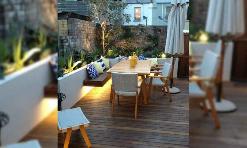 backyard deck lighting ideas