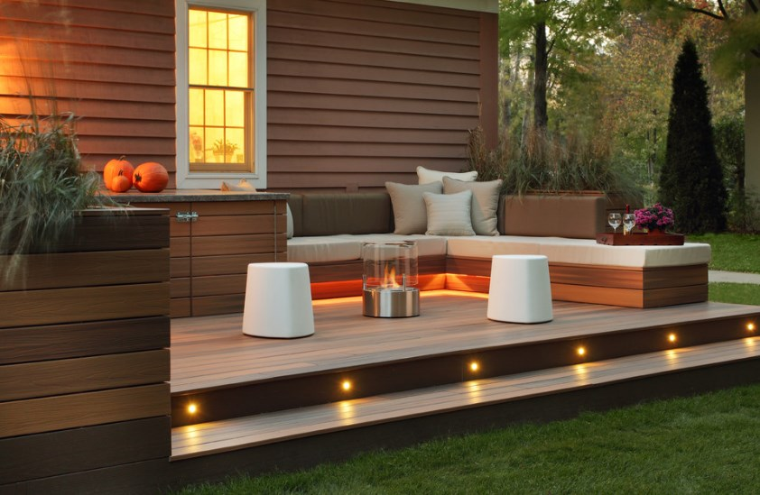 pictures of deck lighting ideas