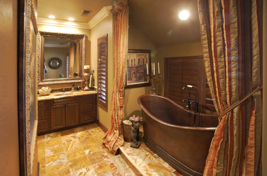 Decorating Bathroom Shower Curtain Ideas