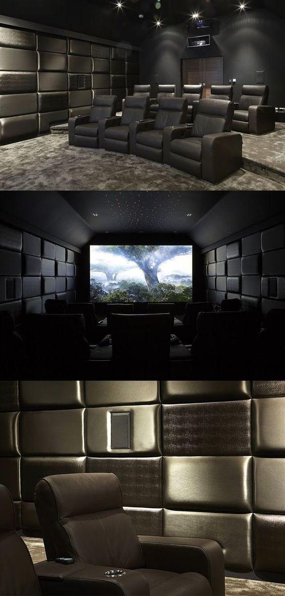 Media Room Seating Ideas