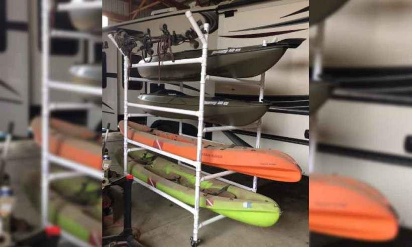 21 Smart Kayak Storage Ideas Stand Rack To Keep Your Beloved Tools
