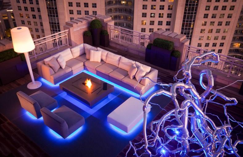 deck lighting ideas wall sconces