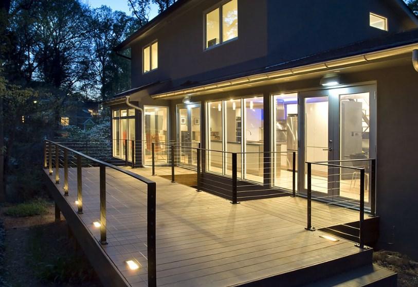 string deck lighting ideas