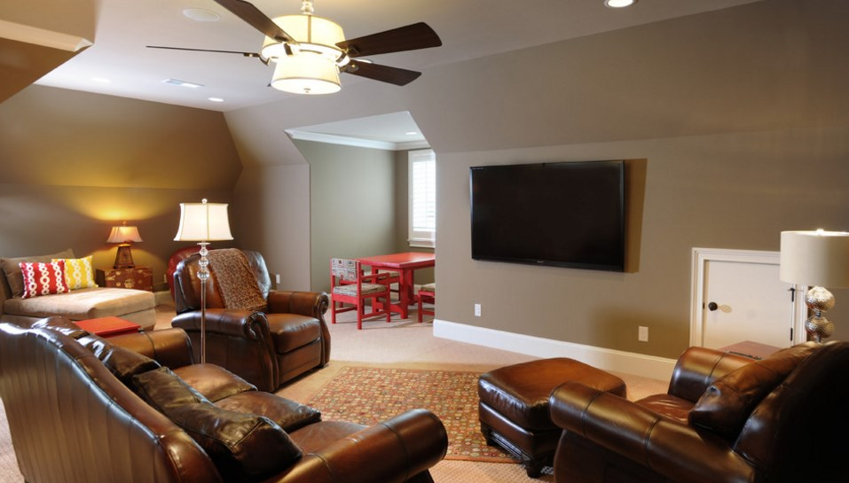 cool bonus room ideas