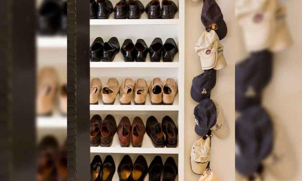 hat rack ideas wood