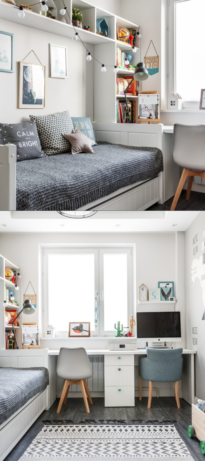 30+ Fresh Study Room Design Ideas (Guide & Tips for ...