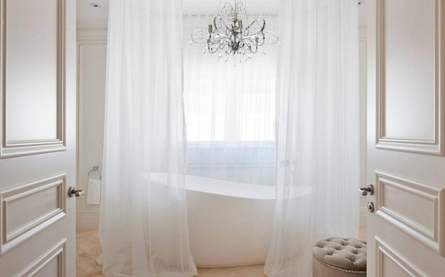 modern bathroom shower curtain ideas