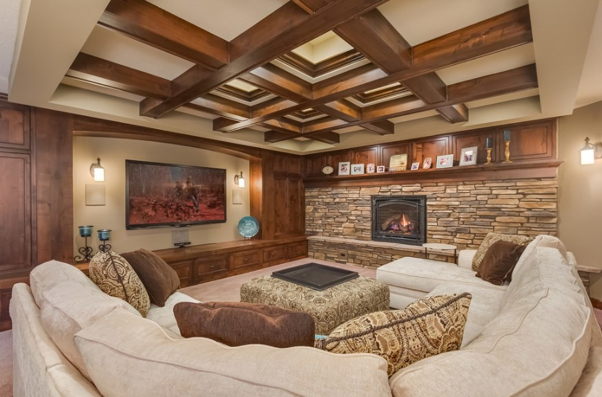 20 Cool Diy Basement Home Theater Ideas And Inspiration For
