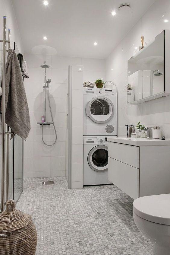 Basement Laundry Room Floor