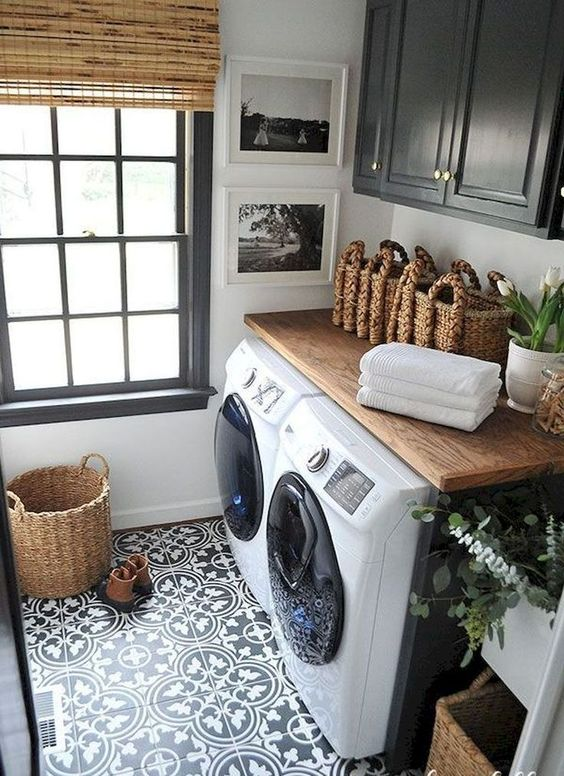Basement Laundry Room Makeovers
