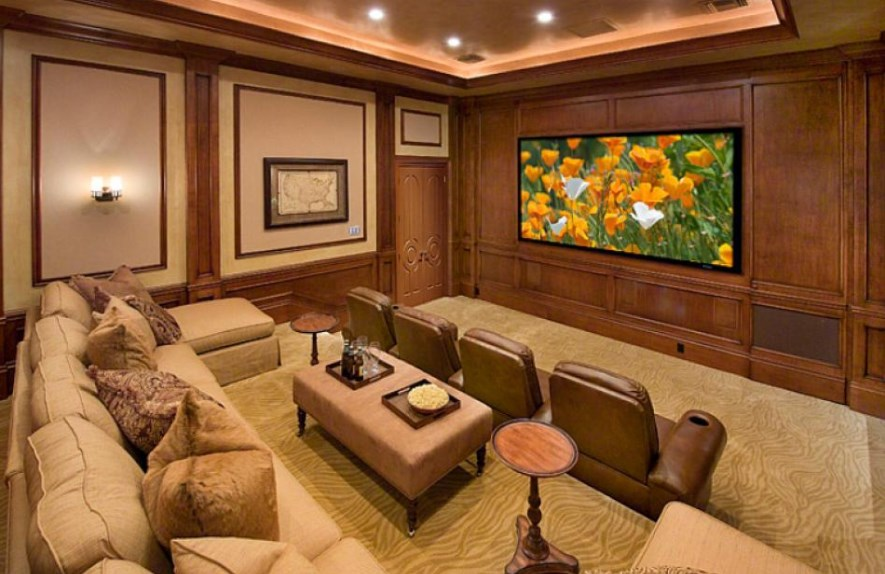 basement home theater seating