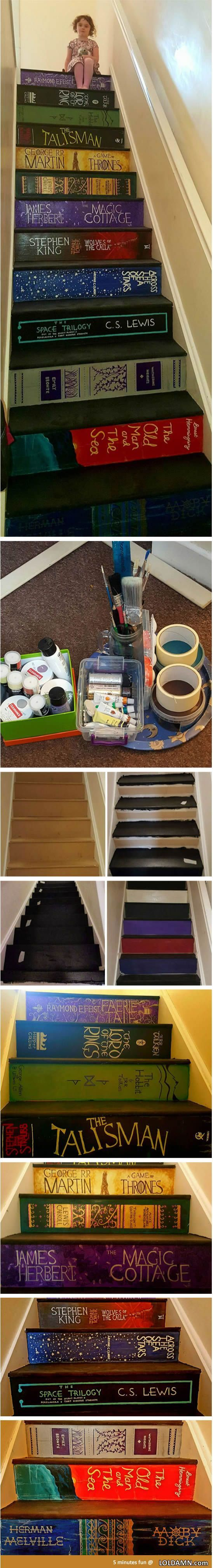 Cool Paint Staircase Ideas