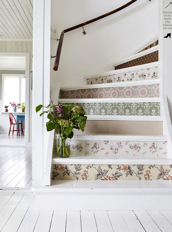 Modern Family Staircase Paint Color