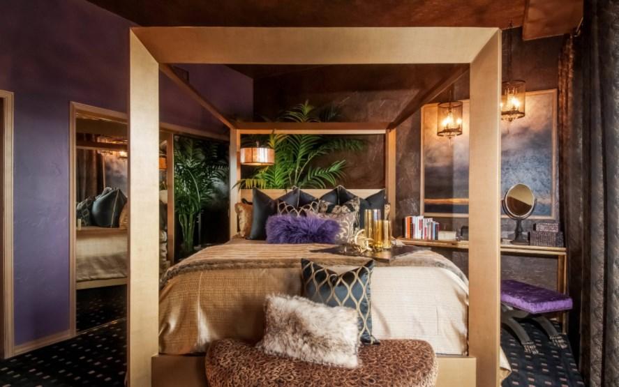 Steampunk Bedroom Design