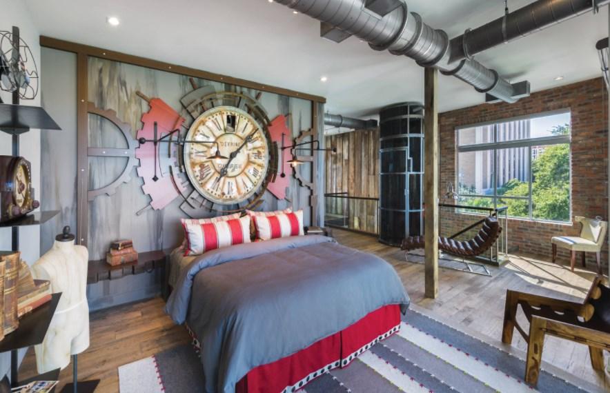 23 Diy Steampunk Bedroom Decor Ideas Designs Accessories And Art
