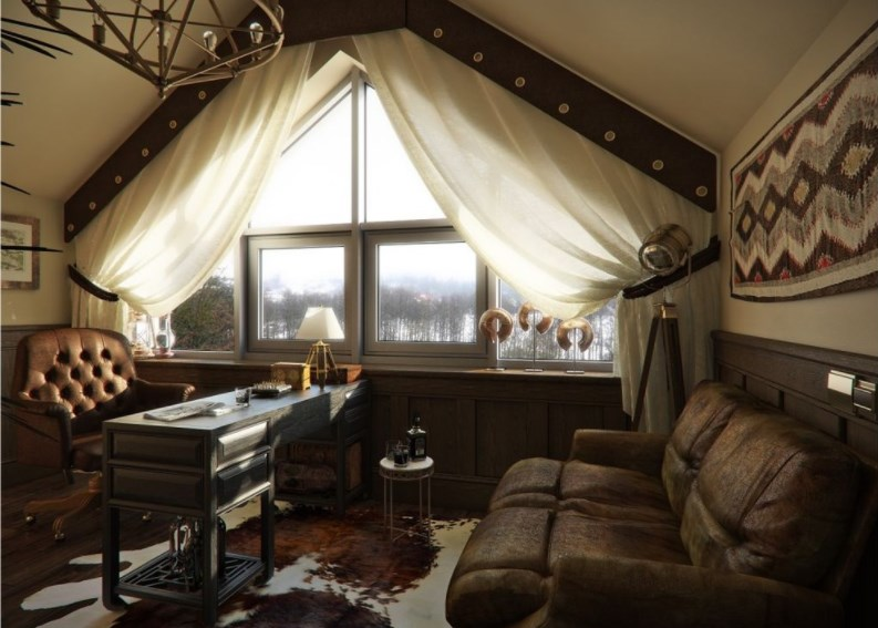 Steampunk Kids Bedroom